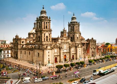 Виза в Мексику - посетите Кафедральный собор Мехико