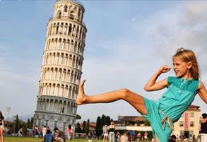 Виза в Италию для ребенка