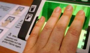 Сдача биометрических данных для визы